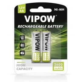 Akumulatorki VIPOW HR6 2600 mAh Ni-MH 2szt/bl