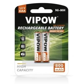 Akumulatorki VIPOW HR3 800 mAh Ni-MH 2szt/bl RTU