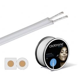 Kabel głośnikowy 2 x 1.5 mm2 SPC (rolka 20m) Clicktronic