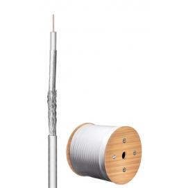 100 kabel koncentryczny antenowy dB, ekranowanie 2x, CU, 500 m