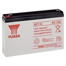 Akumulator żelowy AGM YUASA (NP7-6) 6V 7Ah