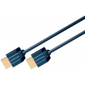 Kabel (slim) HDMI / HDMI 0,5m Clicktronic