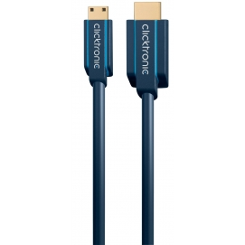 Kabel HDMI / HDMI mini 1m Clicktronic