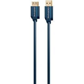 Kabel (przedłużacz) USB 3.0 A / A gniazdo 1,8m Clicktronic