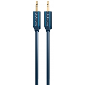 Kabel (aux) 3,5mm wtyk / 3,5mm wtyk 3m Clicktronic