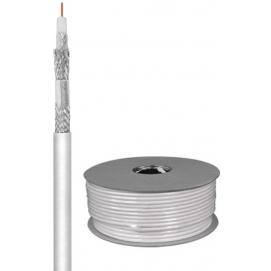 120 kabel koncentryczny antenowy dB, ekranowanie 4x, CCS, 100 m