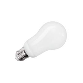 kompaktowa lampa fluorescencyjna (Świetlówka) gruszka, 12W, E27, 2700K