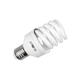 Kompaktowa lampa fluorescencyjna (świetlówka) spirala, 18W E27, 2700K