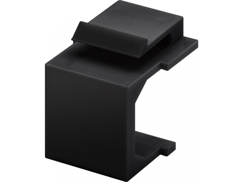 Keystone zaślepka (4szt) czarna - do użycia jako osłona przeciwkurzowa