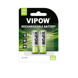 Akumulatorki VIPOW R06 600 mAh Ni-MH 2szt/bl