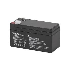 Akumulator żelowy VIPOW 12V 1.3Ah