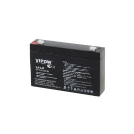 Akumulator żelowy VIPOW 6V 7Ah