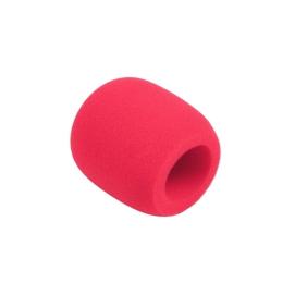 Owiewka (gąbka) mikrofonowa czerwona