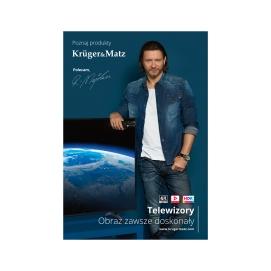 Plakat Kruger&Matz Radosław Majdan TV