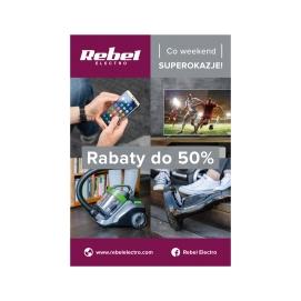 Plakat Rebel Electro