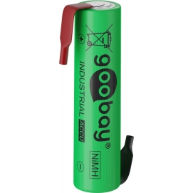 1x AAA (Micro)/HR03 - 800 mAh - Solder tail (Z), Low-self-discharge NiMH battery (ready-to-use), 1.2 V