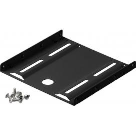 2.5'' hard disk installation frame to 3.5'', black - suitable for installation of a 2.5'' hard disk in a 3.5'' housing slot