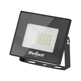 Reflektor LED Rebel 10W (12x2835 SMD) , 6500K, 230V