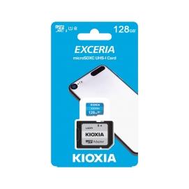 Karta pamięci microSD 128 GB UHS-I U1 Kioxia z adapterem